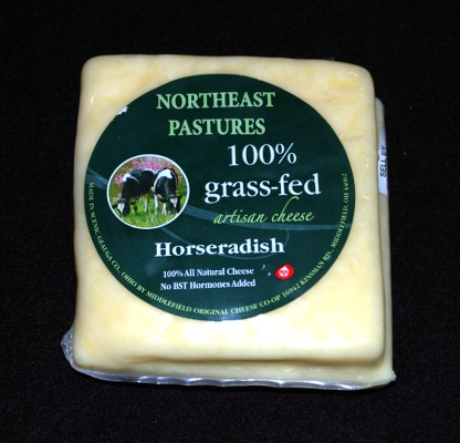 Grass-fed Horseradish 8oz grass fed, grass fed horseradish, grass fed horseradish cheese, horseradish cheese, amish grass fed cheese, organic cheese, organic amish cheese, cheese, amish, amish farm, amish organic cheese, simply cheese, local amish cheese, amish cheese near me